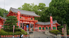 京都市祇園、八坂神社