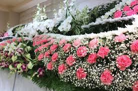 不対称花祭壇