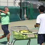 テニス指導