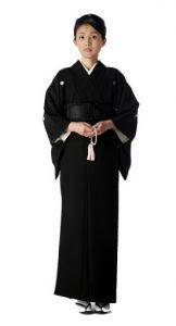女性の正式礼装