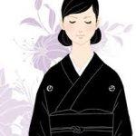 女性の和装礼装