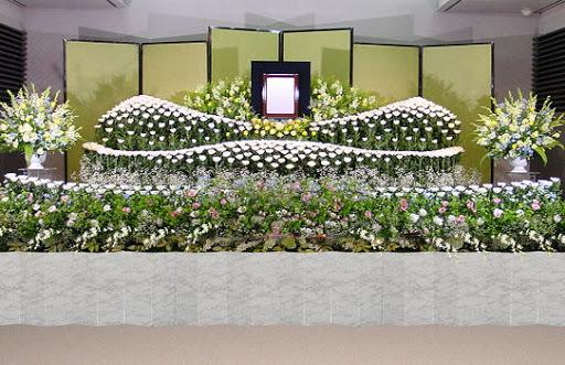 告別式花祭壇