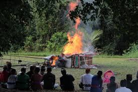 ヒンドゥー教の火葬