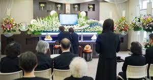家族葬の写真